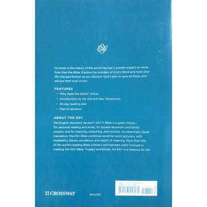 ESV - Economy Bible, Large Print, Paperb